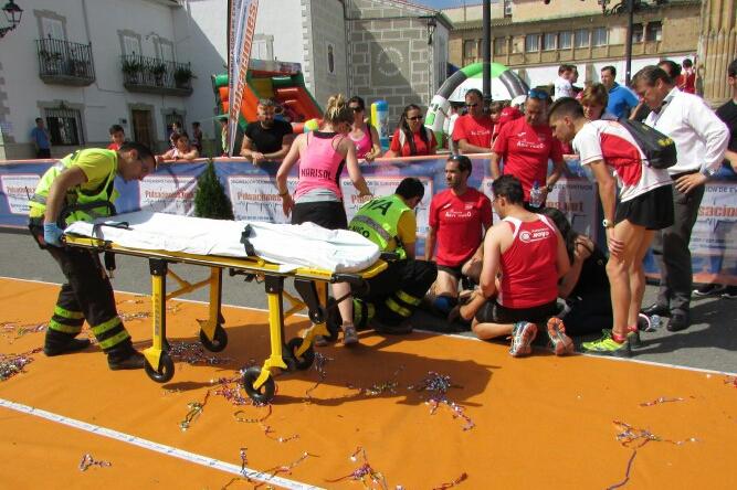 Insolación Media-Maratón Valdefuentes