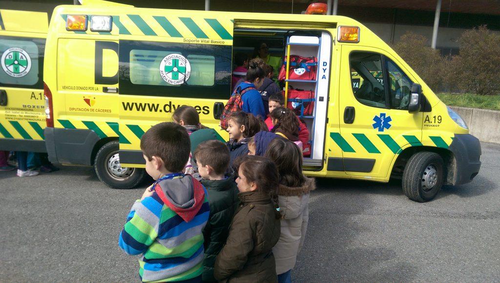 Scouts Al-Kazires en exposición de medios DYA